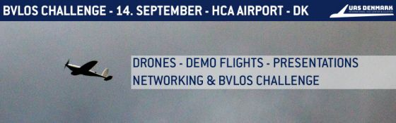 Drone-Demo-Dag at HCA Airport 14. september