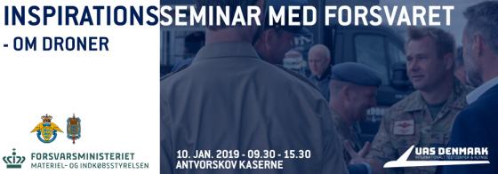 Inspirationsseminar med Forsvaret 10. januar 2019